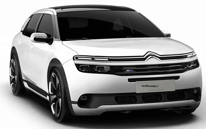 Citroën C4 2018 – Nova geração do hatch promete ousar no design