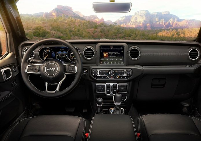 jeep wrangler unlimited 2018 interior